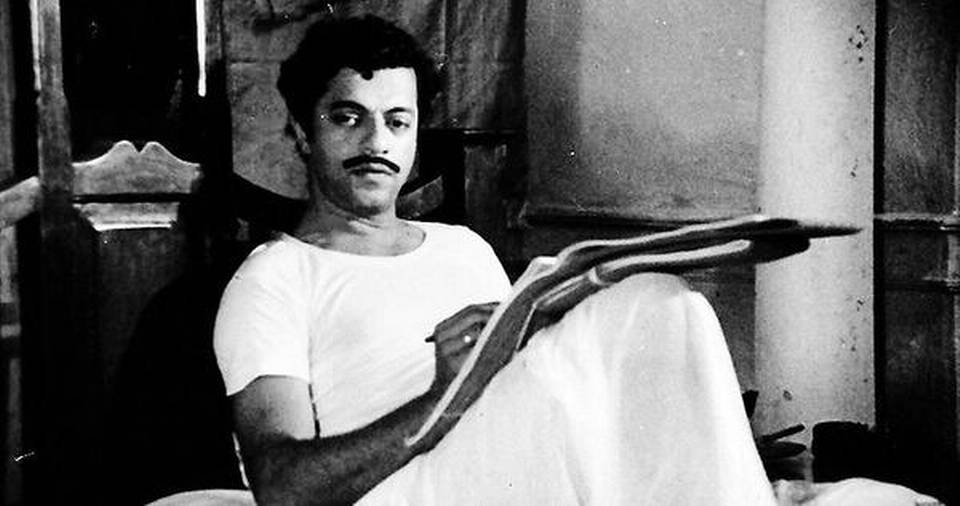 "Girish Karnad starring in Basu Chatterjee's Bollywood movie ""Swami"" in 1977."