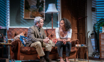 "Kenneth Lonergan's ""The Starry Messenger"" at Wyndham's Theatre"