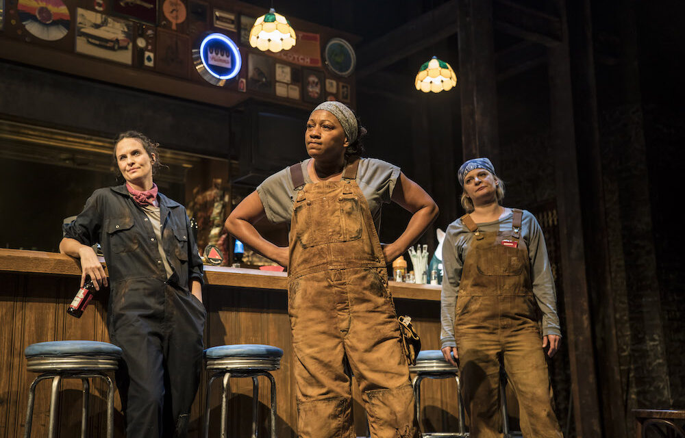 "Lynn Nottage's ""Sweat"" at the Gielgud Theatre: Contemporary Americana"