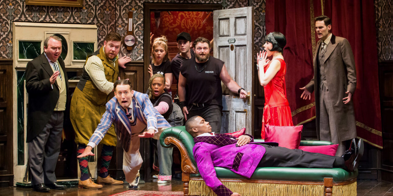 """""""The Play That Goes Wrong"""" at the Ahmanson Theatre"""