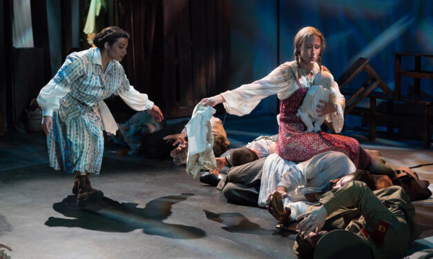 """The Caucasian Chalk Circle"" at Antaeus Theatre Company"