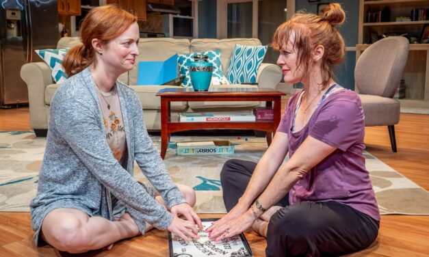 """Beginnings And Endings Pepper Premiere Stage's """"The Wake"""""""