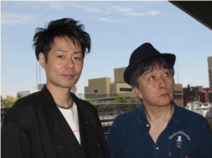 "SLooking forward: Director Junnosuke Tada (left) and actor Hiroo Ohtaka are working together on one of two modern productions of Samuel Beckett's ""Waiting for Godot."" 