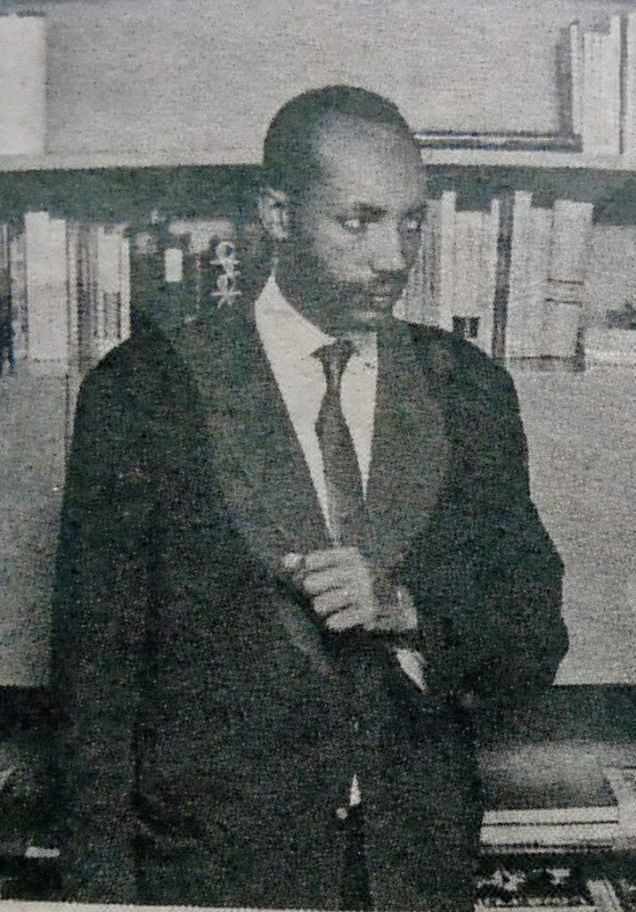 Pioneer of change in Ethiopian theater: Tsegaye Gebremedhin.