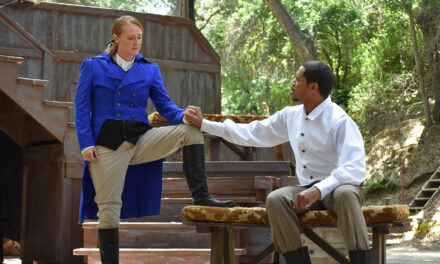"""Twelfth Night"" at Will Geer's Theatricum Botanicum, Topanga Canyon, CA"