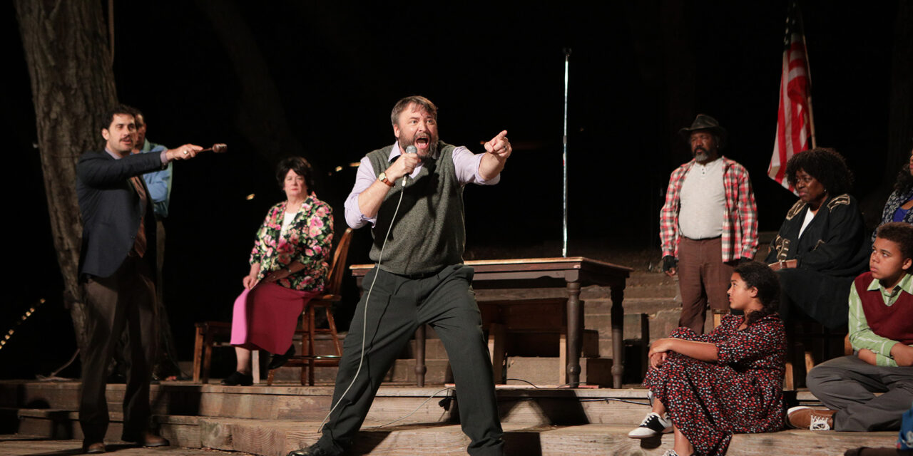 """An Enemy of the People"" at Will Geer's Theatricum Botanicum"