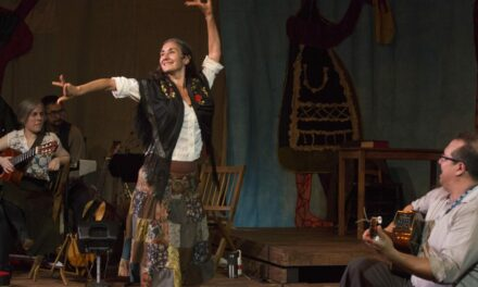 """""""Looking for Violeta"""" at Quantum Theatre, Pittsburgh, PA, USA"""