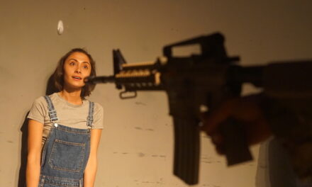 "Taz Skylar and Ross Berkeley Simpson's ""Warheads"" at the Park Theatre: War-scarred Youth"