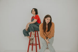 Lily Houghton and Kylie M. Brown. Photo by Dion Lamar Mills.