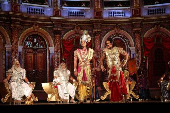 "It is a Different Take on ""Mahabharat:"" Puneet Issar on Directing the Epic on Stage"