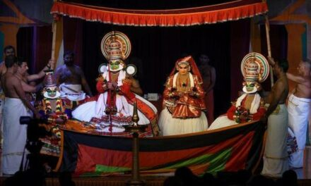 Abhinaya Steals The Show at Kalakshetra Kathakali Festival