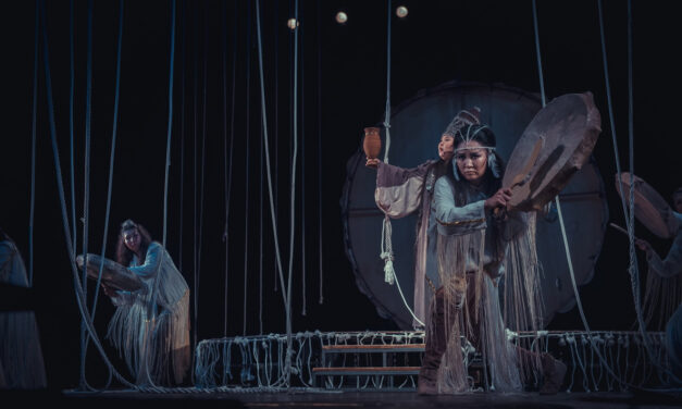 "Olonkho Show ""Dzhyrybyna the Warrior Woman"": Hit the Tambourine"