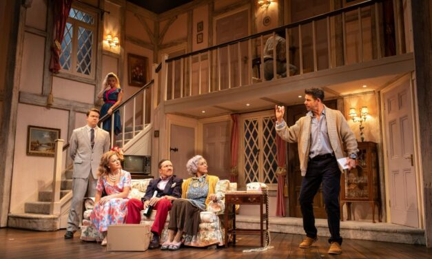 "Michael Frayn's ""Noises Off"" at the Garrick Theatre"