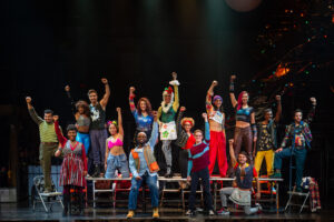 The Company of the RENT 20 th Anniversary Tour RENT 20 th Anniversary Tour, Credit Amy Boyle  2019.