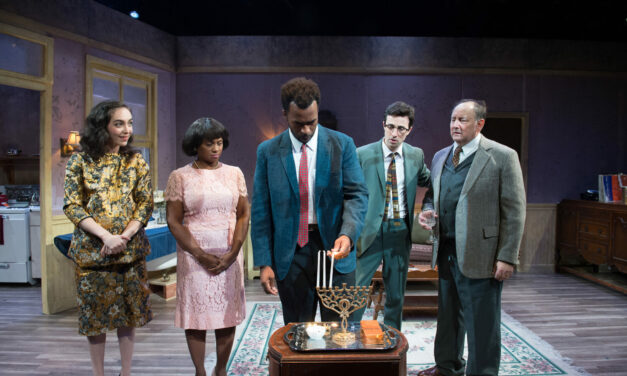 "The World Premiere of ""Eight Nights"" at Antaeus Theatre Company"
