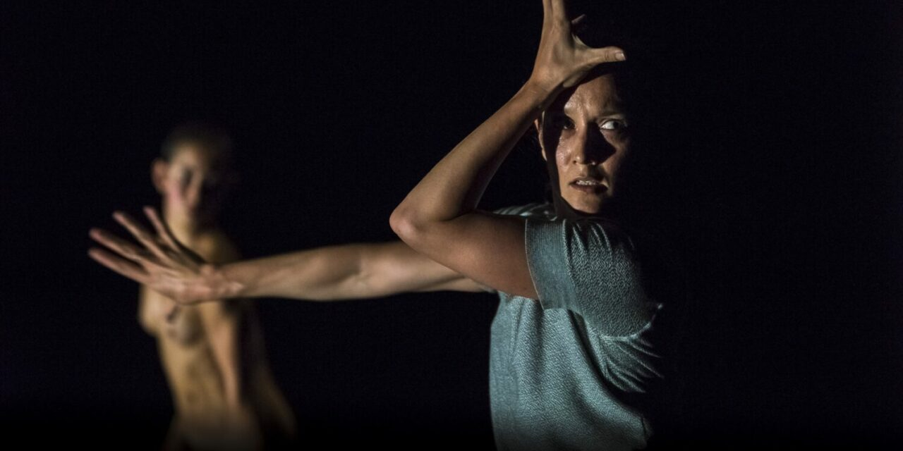 "Anima and Animus. Lucy Guerin: ""Split."" The Place, London, Dance Umbrella 2019 Festival."