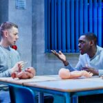 "Samuel Bailey's ""Shook"" at Southwark Playhouse"
