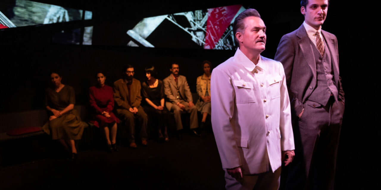 "Murray Mednick's ""Mayakovsky and Stalin"" At The Cherry Lane Theatre: Men With Bloody Hands"