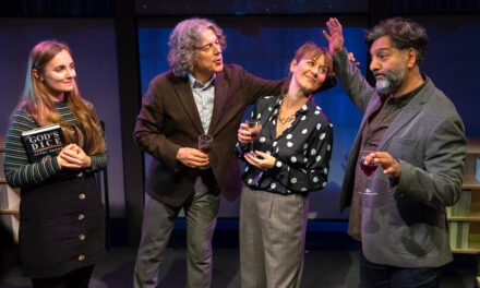 "David Baddiel's ""God's Dice"" at the Soho Theatre: Mid-Life Crisis as Science Confronts Religion"