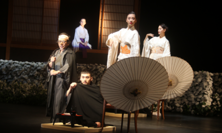 "Tadashi Suzuki's ""Cyrano de Bergerac"": East and West Under the Umbrella"