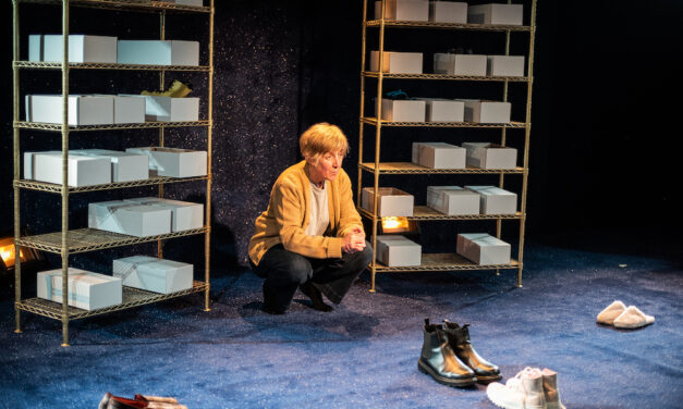 "Ian Kershaw's ""The Greatest Play in the History of the World"" at the Trafalgar Studios: Science Fantasy Hymn to Love"