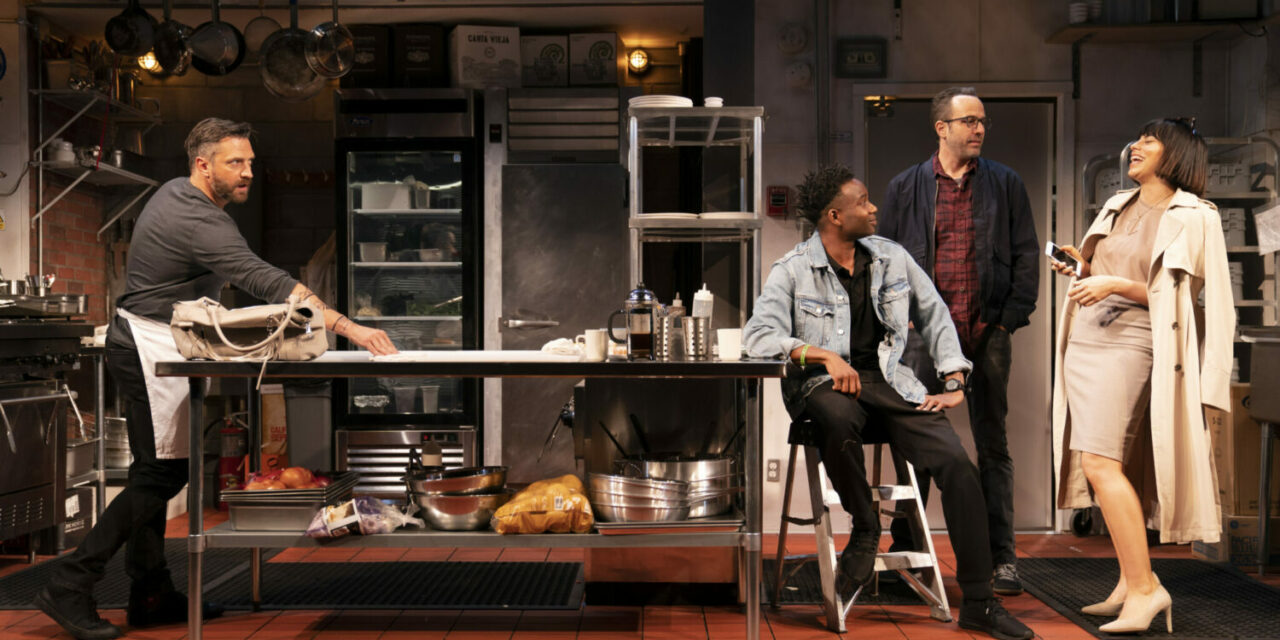 """Krysta Rodriguez on Her Latest Stage Role in """"Seared"""" and Her Collaboration with Theresa Rebeck"""