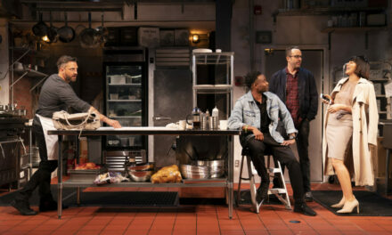 "Krysta Rodriguez on Her Latest Stage Role in ""Seared"" and Her Collaboration with Theresa Rebeck"