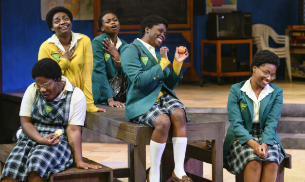 """School Girls; or, The African Mean Girls Play"" at the Pittsburgh Public Theater, Pittsburgh PA, USA"