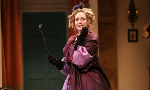 """Rachel Pickup on Her Role in""""London Assurance""""at NYC's Irish Repertory Theatre"""