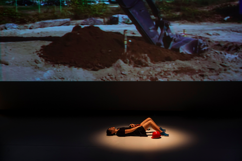 """A production still from Geumhyung Jeong's """"Oil Pressure Vibrator"""""""