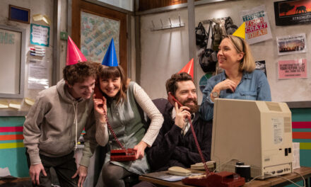 """Sam Steiner's """"You Stupid Darkness!"""" at the Southwark Playhouse: Unconvincing Post-Apocalyptic Office Fantasy"""