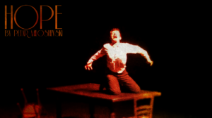 HOPE, one of Petar Milosevski's solo performances. Photo Courtesy of Petar Milosevski