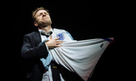 """Williams and Dyer's """"Death of England,"""" National Theatre"""