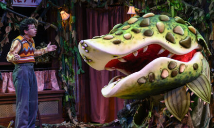 """Little Shop of Horrors"" at the Pittsburgh Public Theater in Pittsburgh, PA, USA"