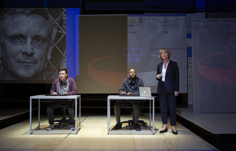 "Al Blyth's ""The Haystack"" at the Hampstead Theatre: Not Entirely Believable Surveillance Thriller"