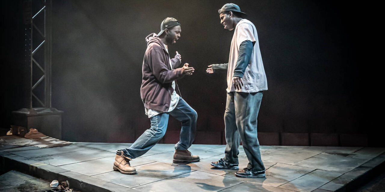 "Antoinette Nwandu's ""Pass Over"" at the Kiln Theatre"