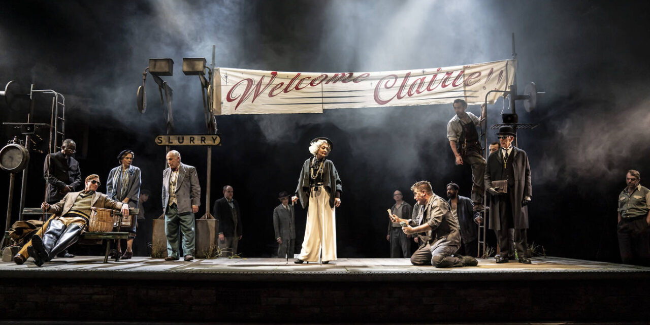 "Tony Kushner's ""The Visit"" at the National Theatre"