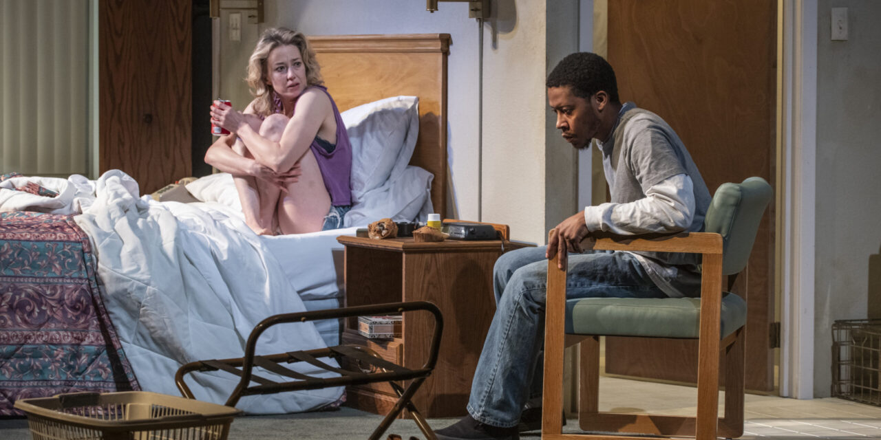 """Paranoia at the Fore in Steppenwolf's Revival of Tracy Letts's """"Bug"""""""