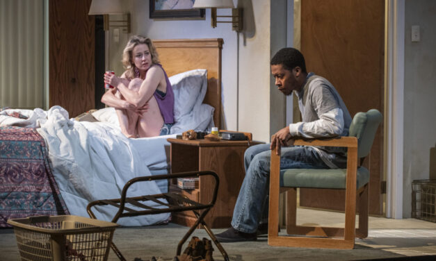 "Paranoia at the Fore in Steppenwolf's Revival of Tracy Letts's ""Bug"""