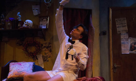 "Gerald Moon's ""Corpse!"" at the Park Theatre: Comedy Thriller In A Tight Spot"