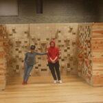"""""""De Lege Zaal: Broken Shapes"""" – Rimah Jabr and Dareen Abbas / Moussem"""