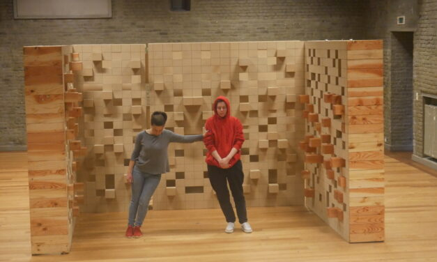 """De Lege Zaal: Broken Shapes"" – Rimah Jabr and Dareen Abbas / Moussem"