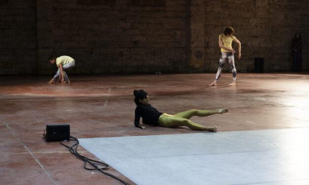 Choreographer Yasmine Hugonnet at Biennale Arcipelago Mediterraneo