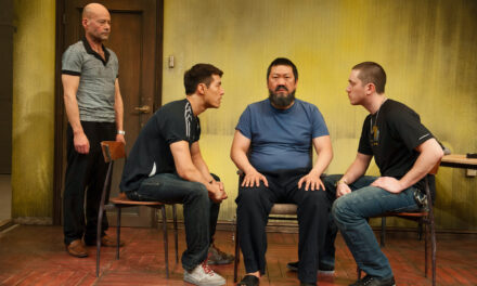 """#aiww: The Arrest of Ai Weiwei"" at The Hampstead Theatre"