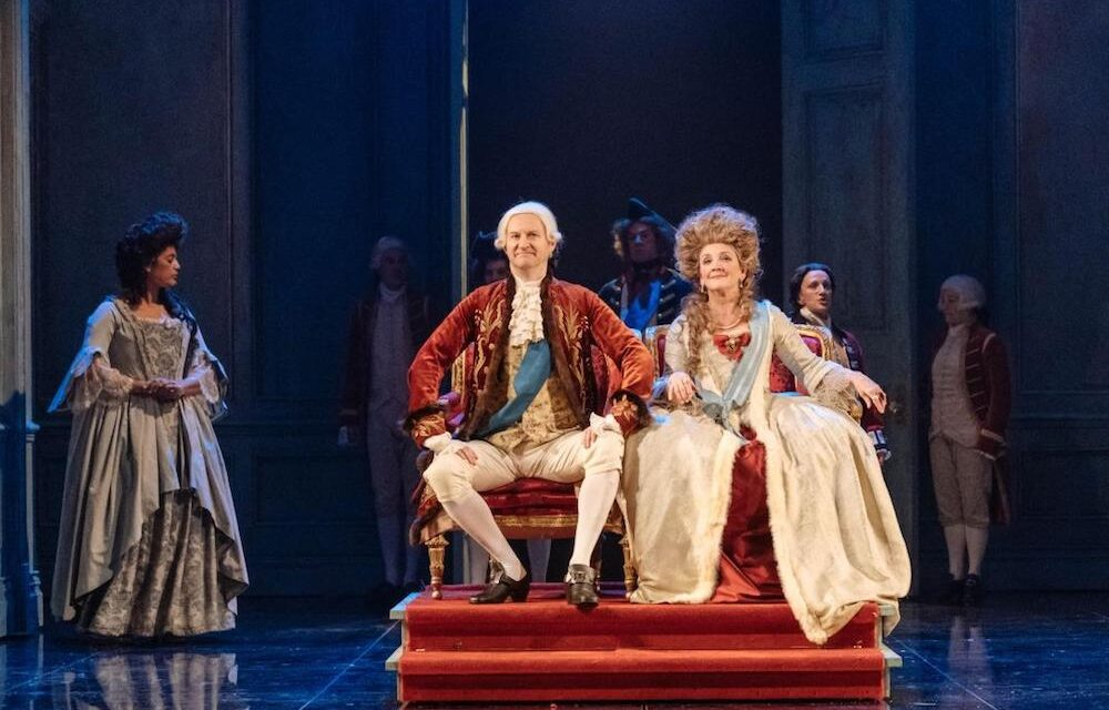 """""""The Madness Of George III"""" at Nottingham Playhouse"""