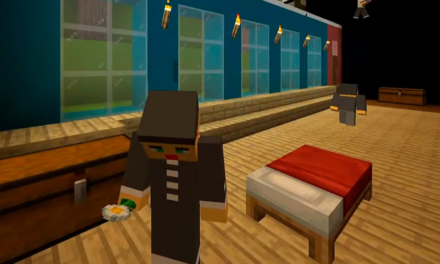 "Russian Theatre Stages ""The Cherry Orchard"" Using Minecraft"