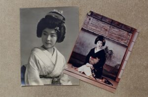 Two archival photographs, side-by-side.