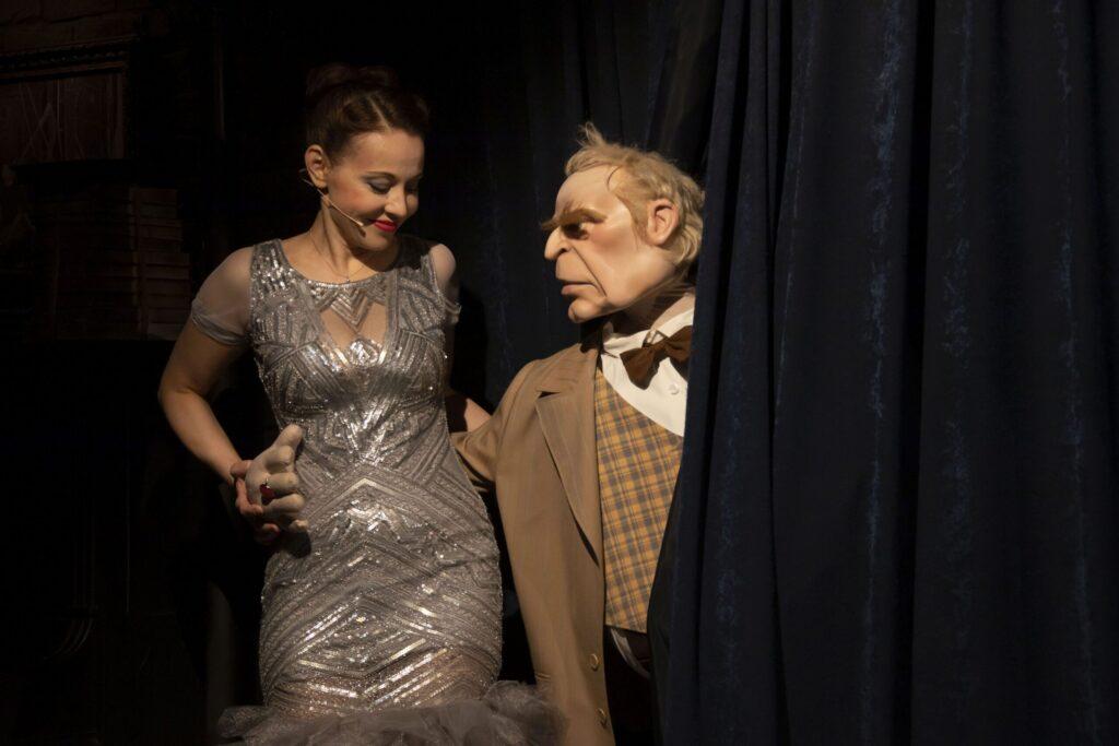 """Mr. Twister – Marshak-Jazz Cabaret."" Director Elena Kotikhina. Vakhtangov Theatre, Moscow Russia, 2020. Photo by Valery Myasnikov from Press office of Vakhtangov Theatre."