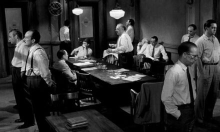 """Twelve Angry Men""; 1950's Courtroom Drama about Confronting Prejudice Still Rings True"