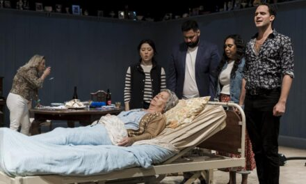 """Review: """"Cursed!"""" is a Play of Outrageous Wit and Deep Thought"""